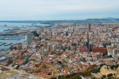 Center of Alicante in Spain Royalty Free Stock Photo