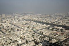Bird's-eye view on Dubai Royalty Free Stock Images