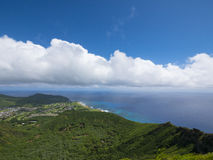 Bird's Eye View from Koko Head Stock Image