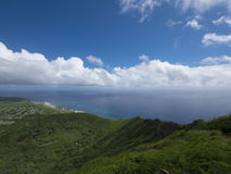 Bird's Eye View from Koko Head Stock Photography