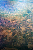 Bird's Eye View of Mid-West United States Stock Photo