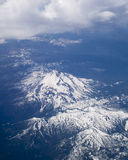 Bird's Eye view of Mt. Hood in Oregon, USA. Royalty Free Stock Photo
