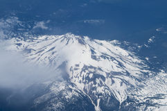 Bird's Eye view of Mt. Hood in Oregon, USA. Stock Photography