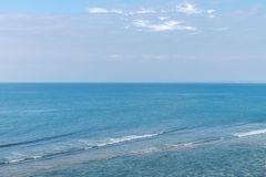 Bird's Eye View of Ocean Royalty Free Stock Images