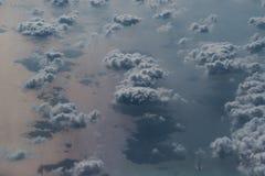 Bird's Eye View of Ocean stock images