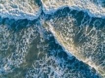 Bird's Eye View of Ocean royalty free stock photography