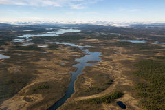 Free Bird S-eye View On The Way To Sweden. Stock Photography - 61209932