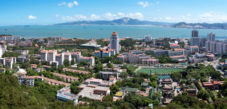 Bird's eye view of Xiamen, China Stock Images