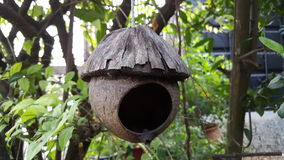 Bird's house Royalty Free Stock Photo