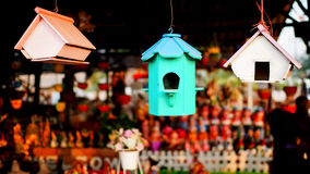 Bird's House Royalty Free Stock Images
