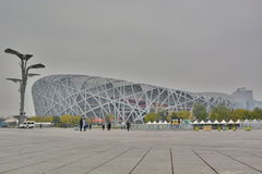 The Bird's nest, Beijing national stadium. China Stock Photography