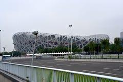 Bird`s Nest, National Stadium, Beijing, China royalty free stock images
