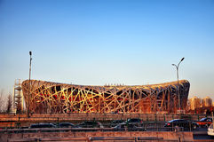 Bird's Nest Stadium. Stock Images