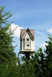 The bird's small house. Royalty Free Stock Photos