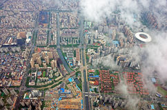 Bird`s View Of Shenzhen City Royalty Free Stock Photo