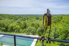 Bird sculpture metal Royalty Free Stock Photo