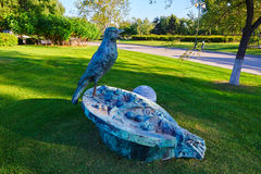 The bird sculpture Royalty Free Stock Photos
