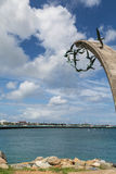 Bird Sculpture by Tropical Harbor Stock Photography