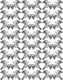 Bird seamless pattern Stock Photography