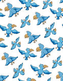 Bird seamless pattern Royalty Free Stock Image
