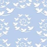 Bird seamless pattern. Stock Photography