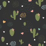 Bird Seamless Pattern. Bullfinch birds on a dark background. With red berries of rowan and brier. Winter/Merry Christmas Collection.Vector Illustration Royalty Free Stock Photography