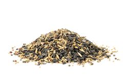 Bird seeds Royalty Free Stock Photography