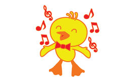 Bird sing a song Royalty Free Stock Photography
