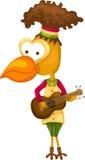 Bird singing Stock Photography