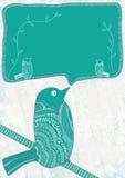 Bird Space_eps stock illustration