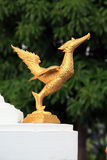 Bird statue Stock Image