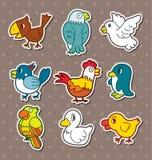 Bird stickers Royalty Free Stock Photo