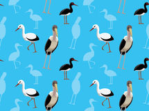 Bird Stork Wallpaper Royalty Free Stock Images