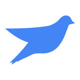 Bird symbol of nature Royalty Free Stock Photography