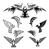 Bird Symbols Stock Photo