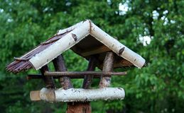 Bird table Stock Photo