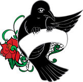 Bird Tattoo Royalty Free Stock Images