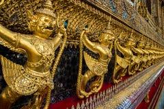 Bird of Thai art Royalty Free Stock Photo