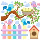 Bird theme image Stock Photos
