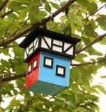 Bird Timbered  house.Germany Royalty Free Stock Photo