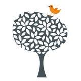 bird and tree design Royalty Free Stock Image