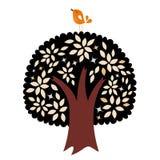 Bird and tree design Stock Photos