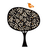 Bird and tree design Royalty Free Stock Photography