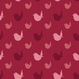 Bird vector art background design for fabric and decor. Stock Photos