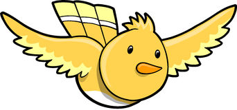 Bird Vector Illustration Royalty Free Stock Photography