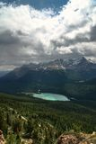 BIRD VIEW ON BANFF NATIONAL PARK Stock Image