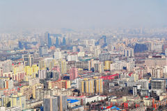 Bird view of Beijing Royalty Free Stock Photography