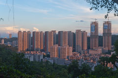 Bird view cityscape of Zhuhai, China Stock Photography