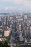 Bird view cityscape of Zhuhai, China Royalty Free Stock Images