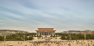 Bird view on mausoleum of Chairman Mao Ze Dong Stock Photography